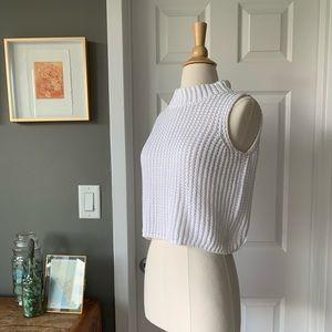 Max Mara Italian knit sleeveless sweater 3075